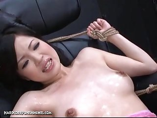Japanese bondage Sex pour some goo over me pt 10