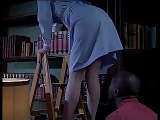 White maid fucked by A horny black servant