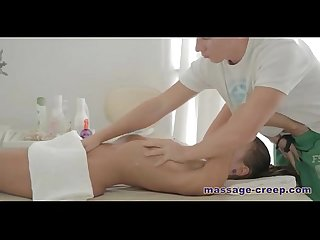Sexy steamy college girl massage video