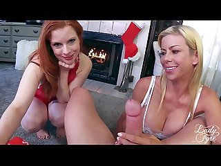 My two moms alexis fawx lady fyre christmas taboo special