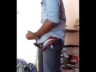 Indian desi boy musterbating