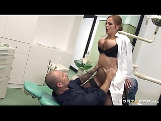 Bjxcam com busty russian dentist candy alexa dominates her patient