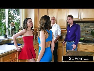 Whoring wives Melissa moore riley reid swap husbands at dinner party