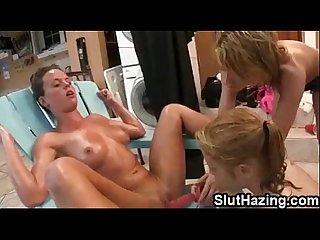 University whore Naomi hazed