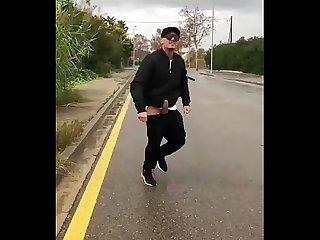 Chris diamond naked on the Street