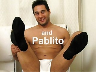 Pablito and Kevin are horny for each other S socks