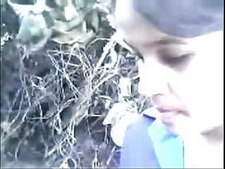 Indian bangla Hot dasi young couple outdoor wowmoyback