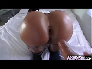 Slut Girl (jewels jade) With Big Ass Get Oiled And Anal Banged mov-18