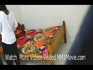 Indian lovers hardcore sex scandal in dorm room leaked mm1movie com