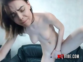 Clean Shaven Babe Is Hungry For Some WETVIBE.com Vibrator Orgasm Sex LIVE