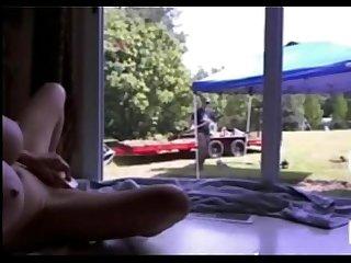 Girl masturbate in front of gardener v1pcamz com