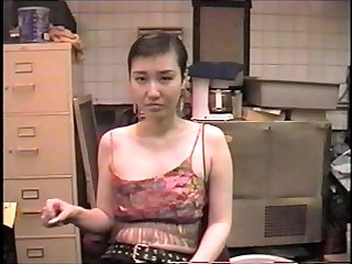 Mistress sayako sucks cock in the basement of a bar 1
