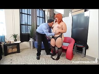Sexy Curvy Secretary Fucks Her Hung Latino Boss