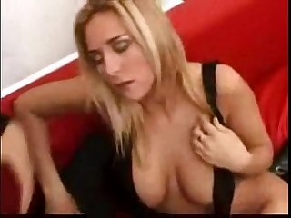 Hot blonde chick fucks an Argentinian stud 100dates