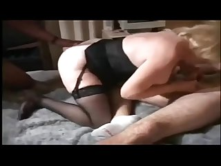 Kitty foxx interracial Threesome