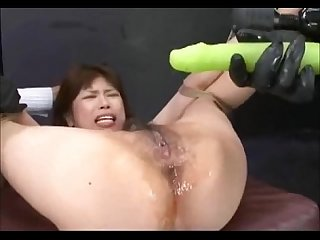 Vibrator gang banged hairy asian