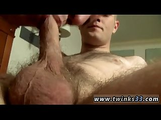 Houston gay twink massage Welsey deep-throats both Cain and Bryce and