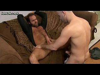 Mature gays tasting and rubbing their dicks