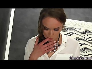 Cunt rubbing euro babe