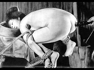 Slaves to rope japanese art bizarre bondage extreme bdsm painful cruel punishment asian fetish