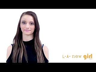 Southern girl gives handjob at casting audition