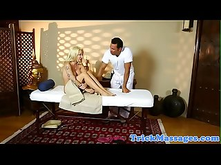 Massage loving milf screwed by hard cock