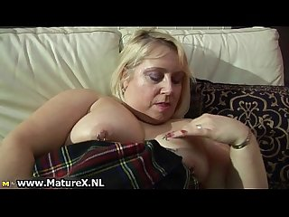 Fat horny old housewife fucking