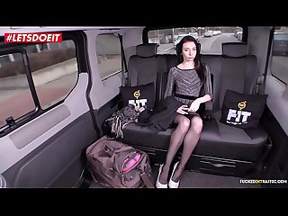 VIP SEX VAULT - Skinny Russian Babe Gets Drilled In Czech Taxi (Liz Heaven)