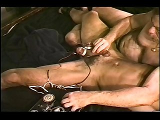 Cbt young muscular stud electro stim