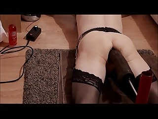 Rachelsexymaid no 5 adventures with a fuck machine bam 13 inch