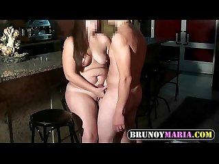 Jamona casada de brunoymaria follada en el bar donde trabaja impresionante