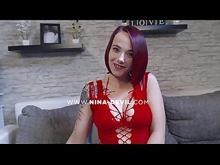 Amateur girl ninadevil im weien body