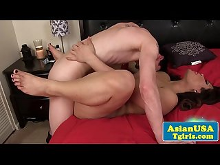 Anal action tgirl asian Lisa long