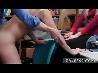 Blonde girl fucked and ebony old guy A mother and friend's daughter