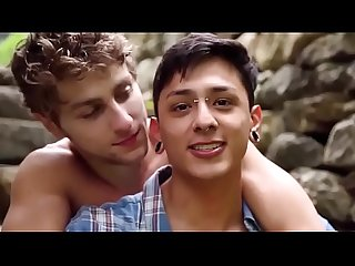 hot twinks make love outdoor