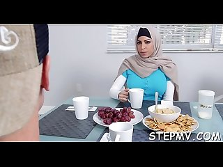 Hawt stepmom is rammed hard