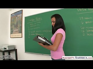Small breasted coed danica dillon fucking in the class