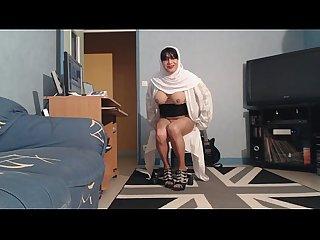 gros seins de musulmane voilée