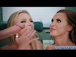Slut patient briana banks Nikki benz seduce doctor for hard sex action movie 08