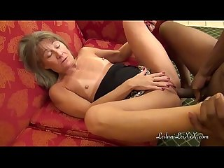 Barter town milf barters with bbc tenant for rent