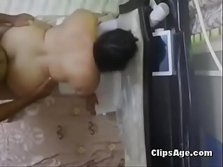 Desi mona Aunty sucking young dick and fucking hard in doggystyle