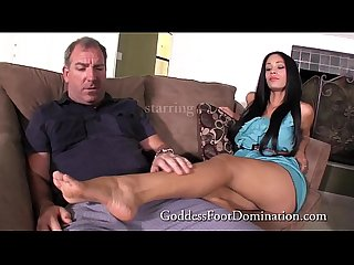 Jamie S mother S date footfetish footjob