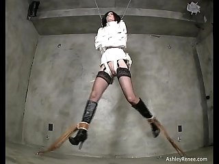 Ashley renee in maxcita straitjacket