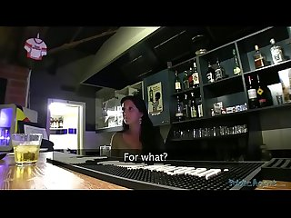 Publicagent czech barmaid fucks wildly with stranger for money nablog org
