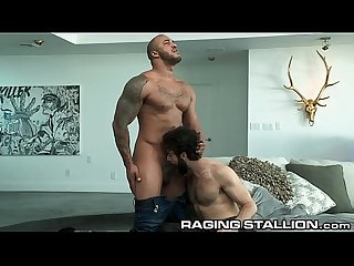 RagingStallion Dude! Thanks 4 Letting Me Crash. Down 4 A Blowjob?