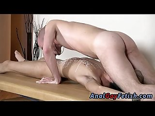 Twink teacher shower Brit twink Oli Jay is bound down to the table,