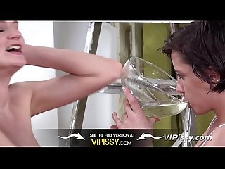 Piss Sharing Teens - Girls Swallow HUGE Bowl Full Of Piss