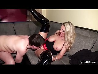 GERMAN MILF MEET STRANGER FROM SCOUT69 TO FUCK