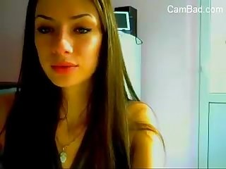 Hot Slim Teen Girl Striptease On Cam - CamBad.com