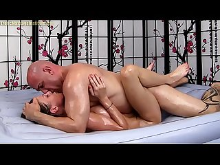 Dillion Carter Gives Sexy Erotic Oil Massage Sex and Blowjob